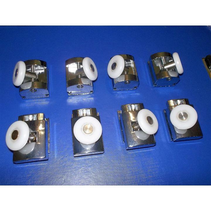 Комплект одинарных роликов для душ кабины 25мм HS07-S