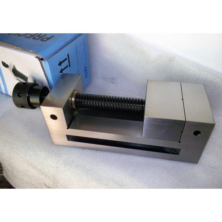 Лекальные фрезерные тиски 100мм QGG 100